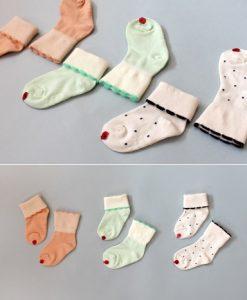 Kokacharm-Cupcake Socks