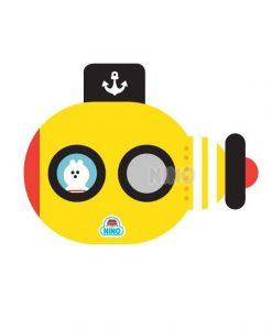 Mirror-Board-Submarine-Yellow