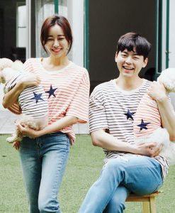 Stripe Star Family Clothing