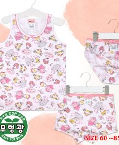 Princess Girls Cotton Span Underwear Set