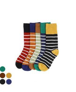 Color twin socks