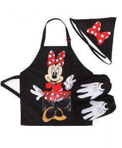 Minnie Mouse Apron Set