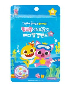 Pinkfong Mosquito Gel Band Round