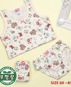 Butterfly Bunny Girls Cotton Span Underwear